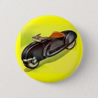 Retro vintage 50's Motorcycle of the Future 2 Inch Round Button