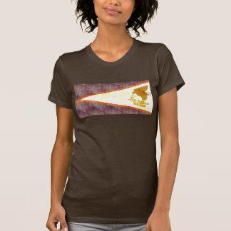 Retro Vintage American Samoa Flag T Shirts