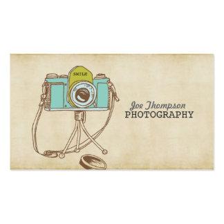 Retro Vintage Camera Photographer Business Cards
