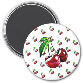 Retro Vintage Cherry Cute Kitchen Magnet