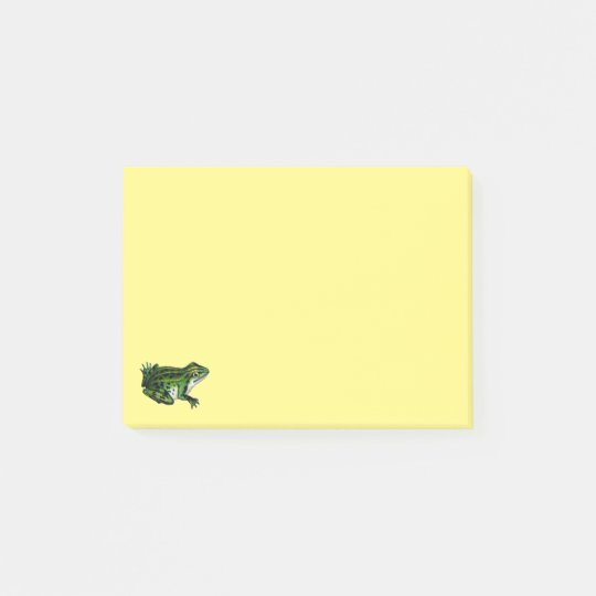 Retro Vintage Children's Book Frog Post-it® Notes
