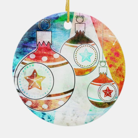 Retro Vintage Christmas Ornaments
