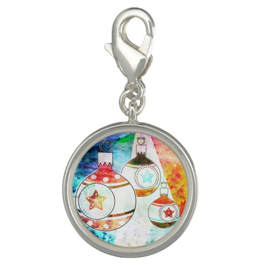 Retro Vintage Christmas Ornaments Charm