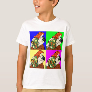 retro vintage comic T-Shirt
