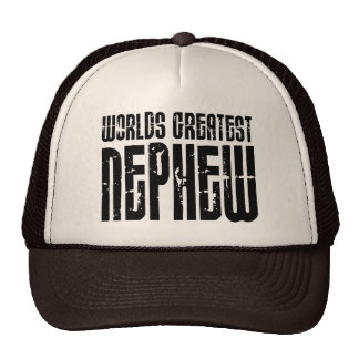 Retro Vintage Cool Nephews World s Greatest Nephew Hats