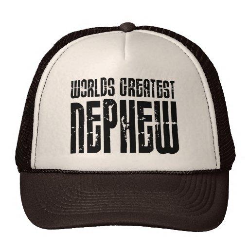 Retro Vintage Cool Nephews World's Greatest Nephew Hats