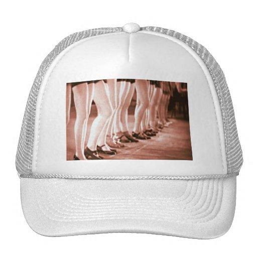 Retro Vintage Dancing Women Beautiful Dancing Legs Trucker Hat