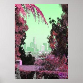 Retro Vintage Fine Art Los Angeles Poster Prints