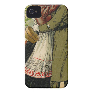 Retro Vintage German Soldier Christmas Case-Mate iPhone 4 Case