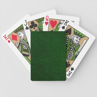 Retro Vintage Green Playing Cards