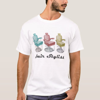 Retro Vintage Hair Stylist Salon Chair T-Shirt