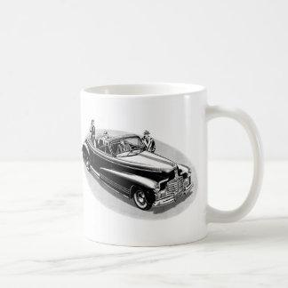 Retro Vintage Kitsch 40s Viintage Automobile Coffee Mug