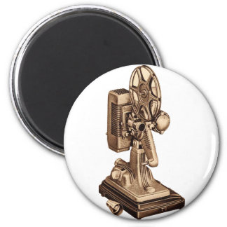 Retro Vintage Kitsch 50s 8mm Film Projector Magnet