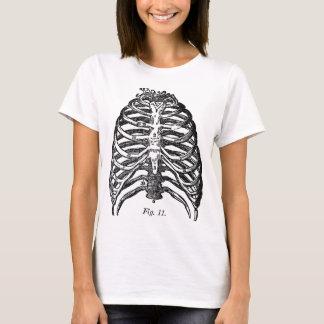 Retro Vintage Kitsch Anatomy Medical Rib Cage T-Shirt