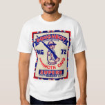 Retro Vintage Kitsch Doughboy Mammoth Caps T-shirt
