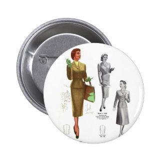 Retro Vintage Kitsch Fashion Women's Wear Pins