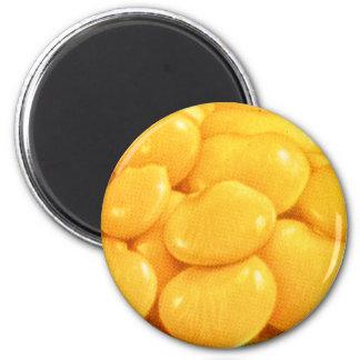 Retro Vintage Kitsch Food Butter Beans Magnet