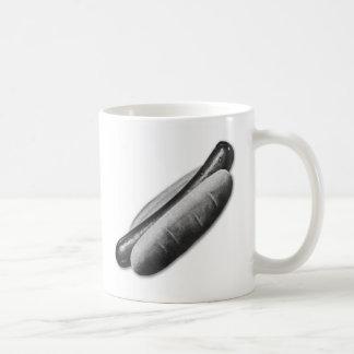 Retro Vintage Kitsch Hot Dog Frankfurter and Bun Coffee Mug
