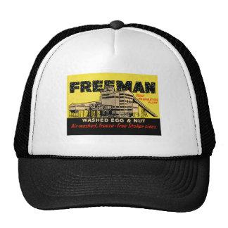 Retro Vintage Kitsch Industrial Freeman Egg & Nut Trucker Hat