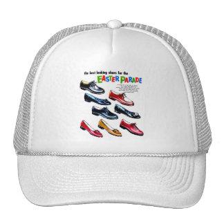 Retro Vintage Kitsch Kids Shoes Easter Parade Trucker Hat