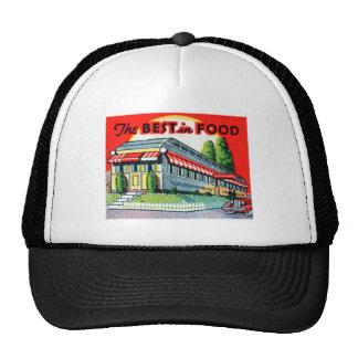 Retro Vintage Kitsch Restaurant Best in Food Trucker Hat