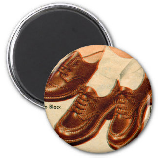 Retro Vintage Kitsch Shoe Kid s Shoes Catalog Art Magnet