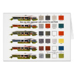 Retro Vintage Kitsch Suburbs Approved House Greeting Card
