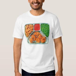 Retro Vintage Kitsch TV Dinner 'Shrimp' Shirts