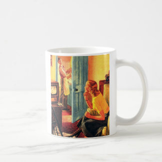 Retro Vintage Kitsch TV Television Early TV Viewer Coffee Mugs