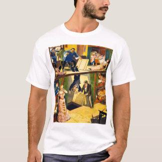 Retro Vintage Kitsch Vaudeville 'Opium Den Murder' T-Shirt