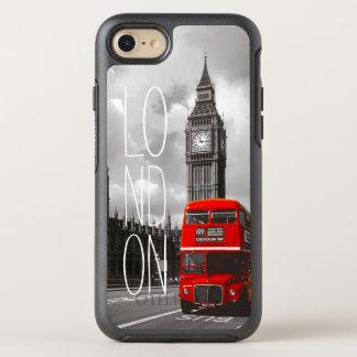 Retro Vintage London City Red Bus Big Ben Photo OtterBox Symmetry iPhone 7 Case