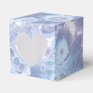 Retro vintage marble paint texture favor box