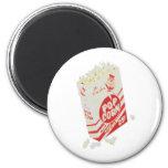 Retro Vintage Movie Theatre Popcorn Refrigerator Magnets