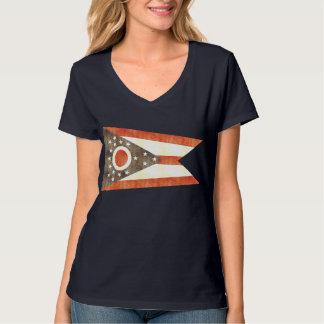 Retro Vintage Ohio Flag T-Shirt