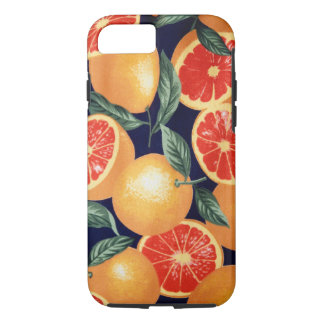 Retro Vintage Oranges iPhone Case