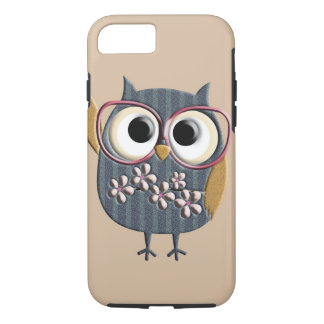 Retro Vintage Owl iPhone 7 Case