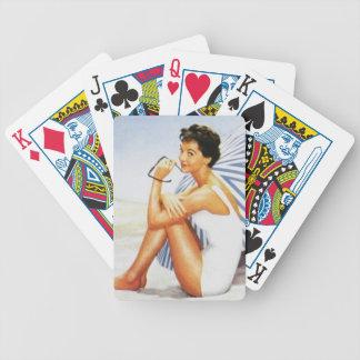 Retro Vintage Poker Deck
