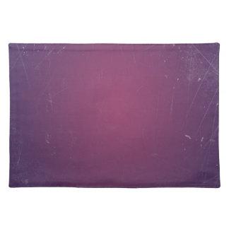 Retro Vintage Purple Plum.Elegant Solid Color Place Mats