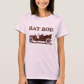 Retro Vintage Rat Rod Old School Cool Rusty Car T-Shirt