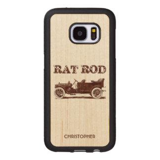 Retro Vintage Rat Rod Old School Cool Rusty Car Wood Samsung Galaxy S7 Case