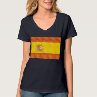 Retro Vintage Spain Flag T-Shirt