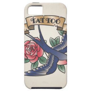 Retro vintage tattoo iPhone 5 cases