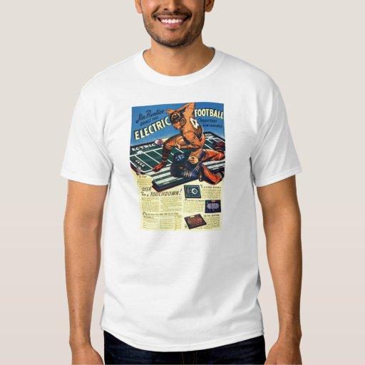 Retro Vintage Toy 'Electric Football Game' Tshirts