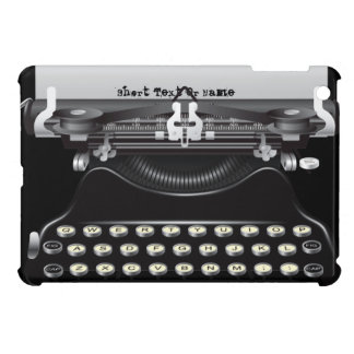 Retro Vintage Typewriter Machine iPad Mini Case