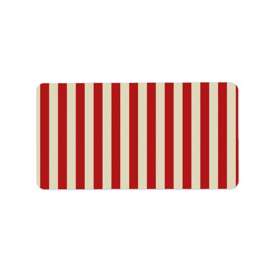Retro Vintage Vertical PopCorn Classic Stripes