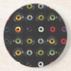 Retro Vintage Vinyl 45 Records Coaster