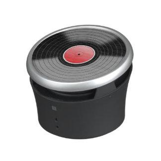 Retro Vinyl Record Design Speaker