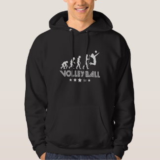 Retro Volleyball Evolution Hoodie