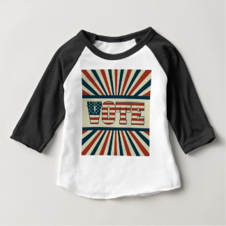 Retro vote, all gear baby T-Shirt