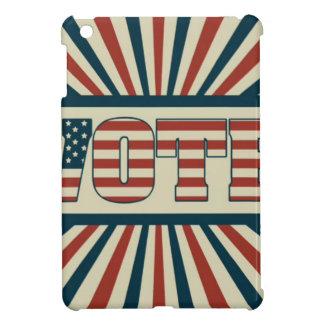 Retro vote, all gear iPad mini case